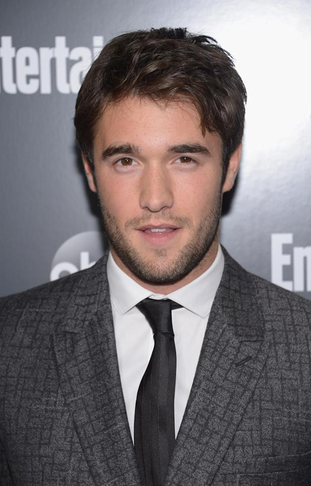 """Josh Bowman (""""Revenge"""") attends the Entertainment Weekly and ABC Upfront VIP Party at Dream Downtown on May 15, 2012 in New York City."""