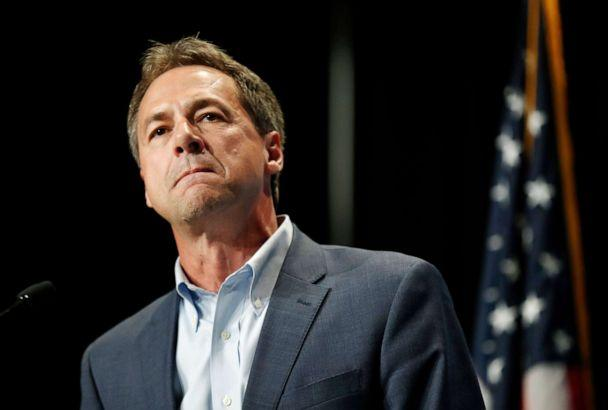 PHOTO: In this June 9, 2019, file photo, Democratic presidential candidate Steve Bullock speaks during the Iowa Democratic Party's Hall of Fame Celebration in Cedar Rapids, Iowa. (Charlie Neibergall/AP, FILE)