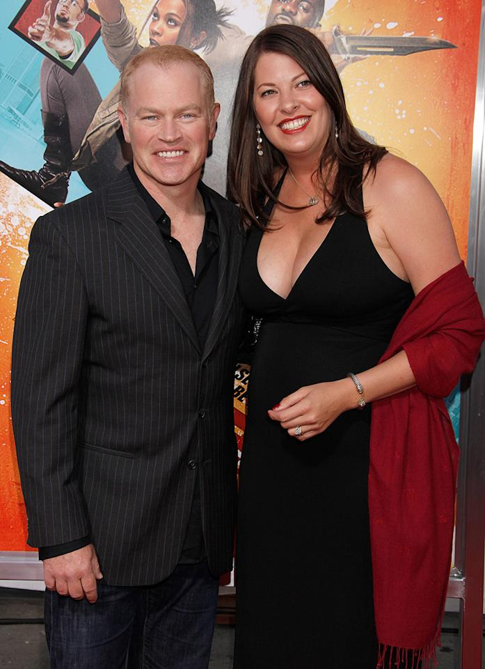 "<a href=""http://movies.yahoo.com/movie/contributor/1800236521"">Neal McDonough</a> and guest at the Los Angeles premiere of <a href=""http://movies.yahoo.com/movie/1810096356/info"">The Losers</a> - 04/20/2010"