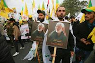 Many fear the American strike that killed Iran's military mastermind Soleimani would set off a wider conflict with Iran, and have braced for more attacks (AFP Photo/Ahmad AL-RUBAYE)