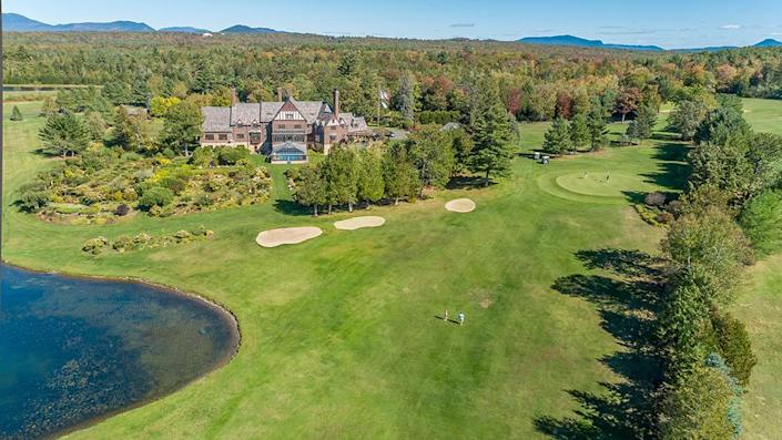 One of the estate's lakes and the golf course. - Credit: Photo: Courtesy of Francois Gagne