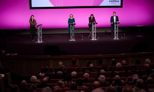 'She's very principled': Lisa Nandy wins over public at hustings