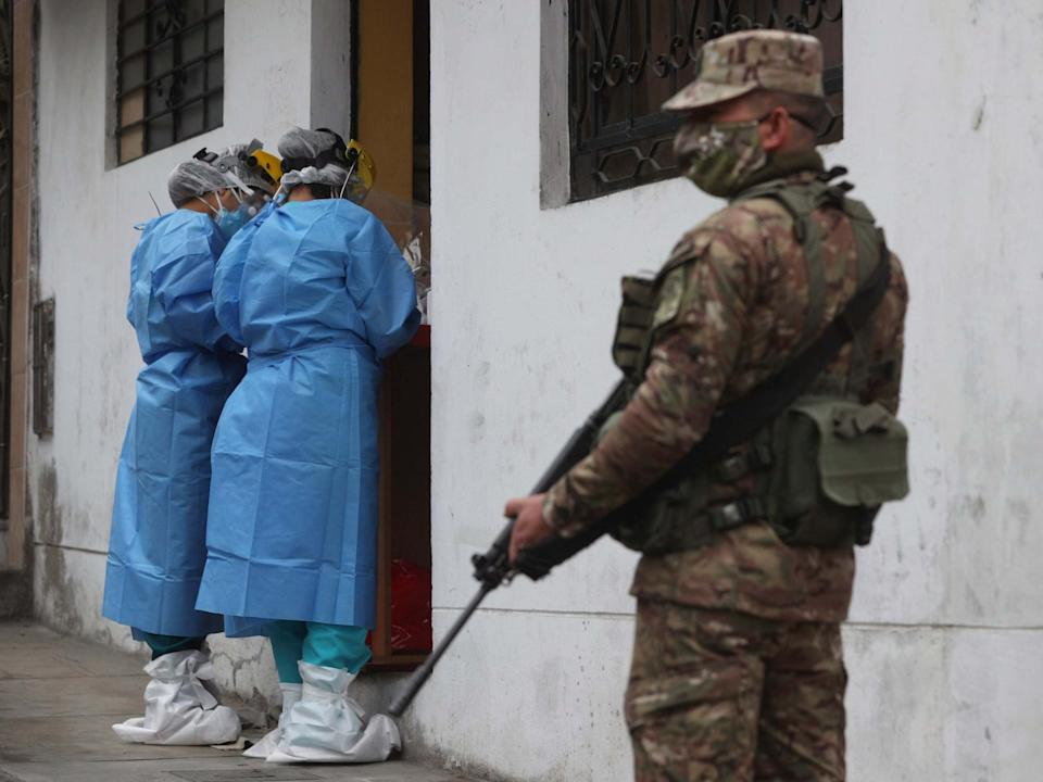 More than 900 women and girls missing and feared dead in Peru since coronavirus crisis started