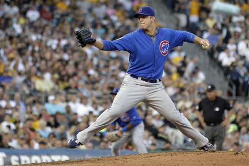 Maholm wins 5th start in row, Cubs beat Pirates