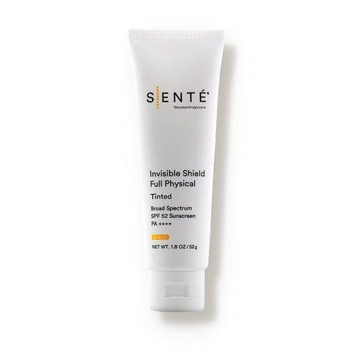 """<p><strong>SENTE</strong></p><p>dermstore.com</p><p><strong>$49.00</strong></p><p><a href=""""https://go.redirectingat.com?id=74968X1596630&url=https%3A%2F%2Fwww.dermstore.com%2Fproduct_Invisible%2BShield%2BFull%2BPhysical%2BSPF%2B52%2BTinted_83806.htm&sref=https%3A%2F%2Fwww.redbookmag.com%2Fbeauty%2Fg35091097%2Fanti-aging-for-men%2F"""" rel=""""nofollow noopener"""" target=""""_blank"""" data-ylk=""""slk:BUY IT HERE"""" class=""""link rapid-noclick-resp"""">BUY IT HERE</a></p><p>""""This sunscreen contains both zinc oxide and titanium dioxide in an elegant, moisturizing cream that won't clog pores, feel heavy or cause a white cast even on darker skin tones,"""" says Dr. Hartman.</p>"""