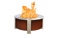 """<p><strong>Breeo</strong></p><p>breeo.co</p><p><strong>$1149.00</strong></p><p><a href=""""https://breeo.co/products/x-series-30-smokeless-fire-pit?variant=35115300388909"""" rel=""""nofollow noopener"""" target=""""_blank"""" data-ylk=""""slk:Shop Now"""" class=""""link rapid-noclick-resp"""">Shop Now</a></p><p>For all the entertaining aficionados out there, your guests will enjoy gathering round this made in the USA fire pit. Ideal for larger spaces, it's super durable and is constructed to produce minimal smoke. </p>"""