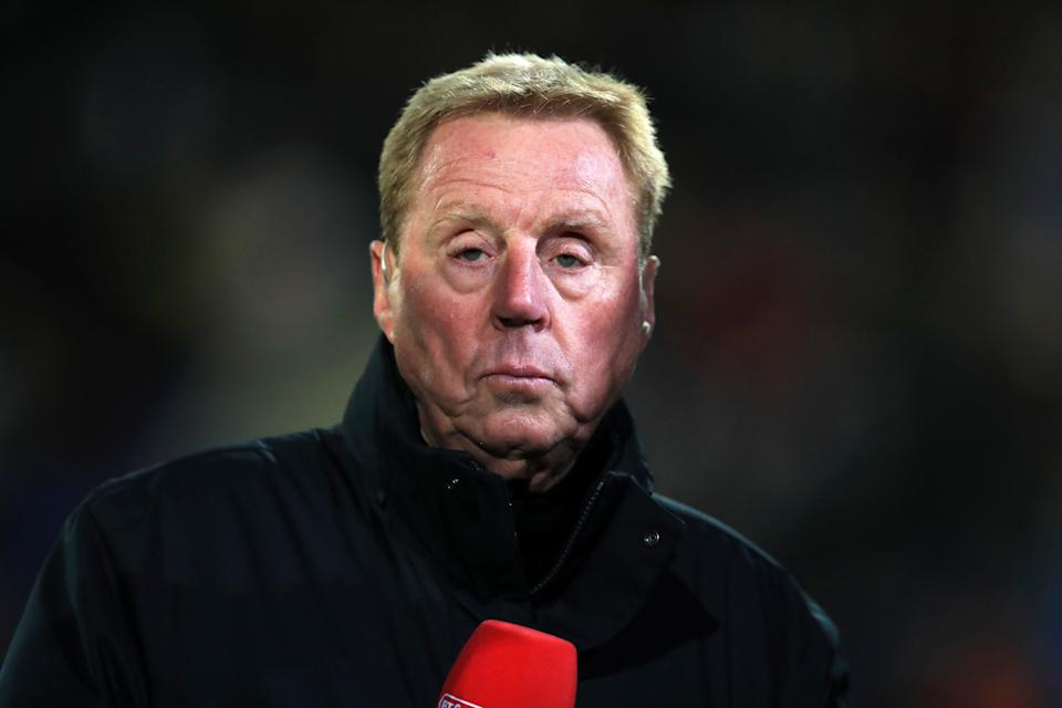 Harry Redknapp commentating for BT Sport before the Emirates FA Cup, third round match at Prenton Park, Birkenhead.