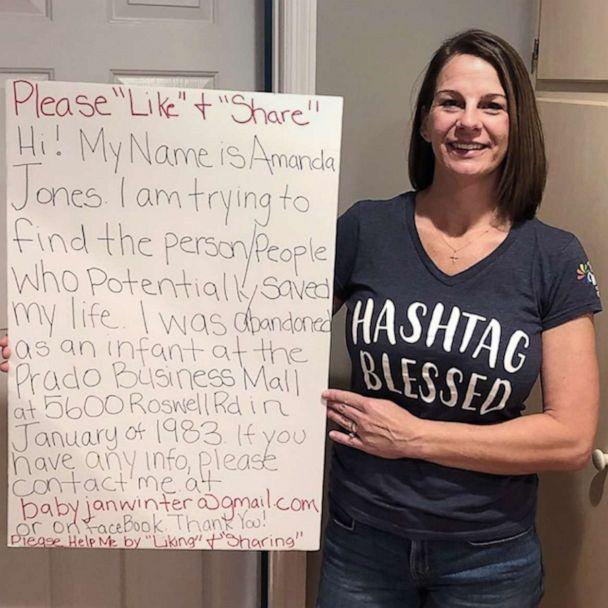PHOTO: Amanda Jones, 38, put out a plea on Facebook to help find the people who saved her life as an infant. (Courtesy Amanda Jones)