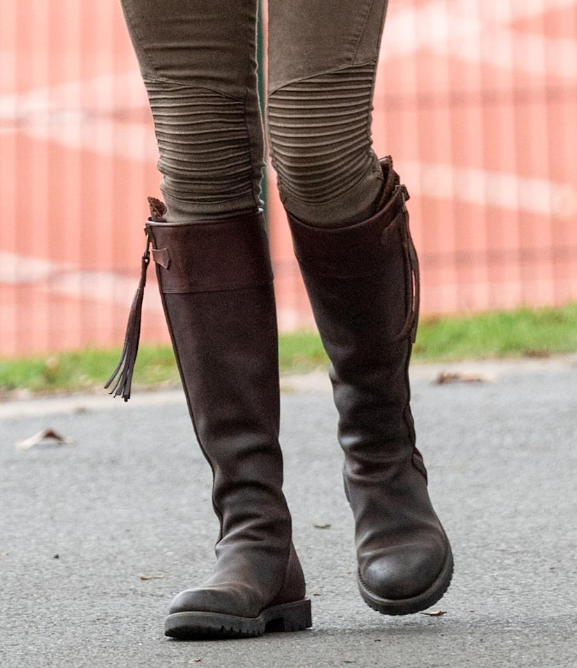 """<p>Made from Spanish vegetable dyed leather, Penelope Chilvers says these Long Tassel Boots are the """"epitome of luxury."""" </p>"""