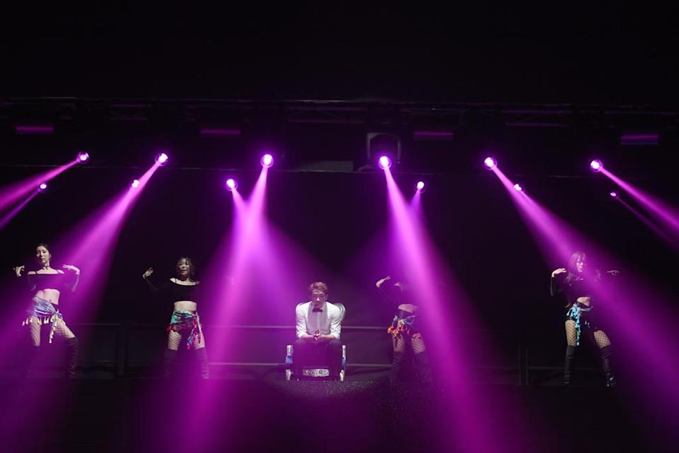 """<p>Rain """"The Squall"""" concert in Singapore. Credit: StarSpeed Entertainment </p>"""
