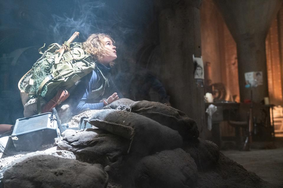 Regan (Millicent Simmonds) braves the unknown in A Quiet Place Part II. (PHOTO: United International Pictures)
