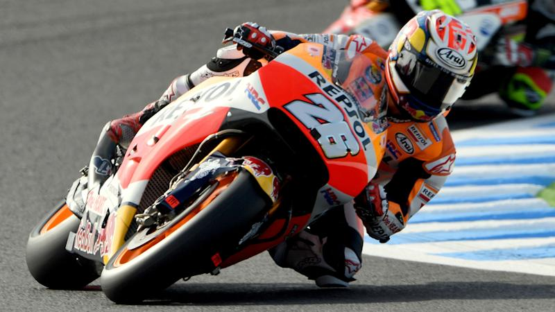 Pedrosa: I was launched into the air
