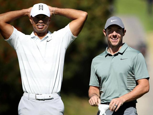 Tiger Woods and Rory McIlroy are in a group with holder Justin Thomas (Getty Images)