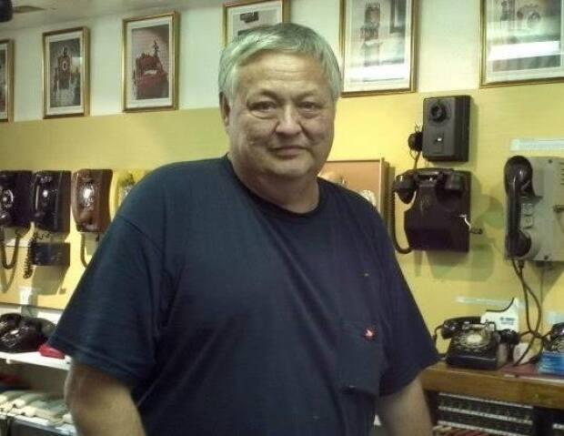Dave Hunter was best known for his private museum of vintage telephones.  (Jeff Hunter - image credit)