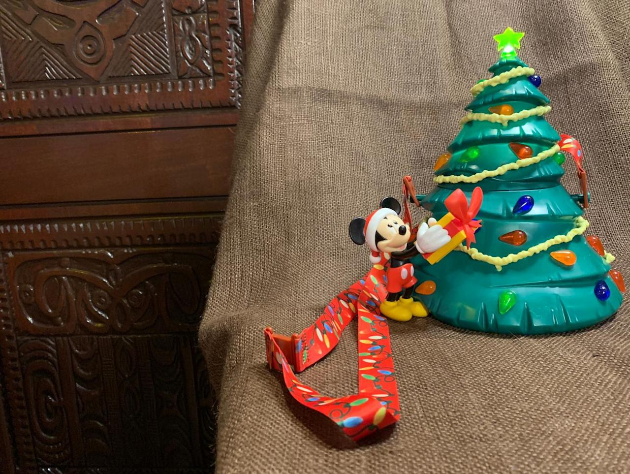 Disney World's new Christmas Tree popcorn bucket is the most festive thing we've ever seen