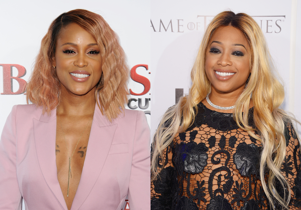 Rappers Eve and Trina made 'Verzuz' history by becoming the first two women rappers to go head to head.
