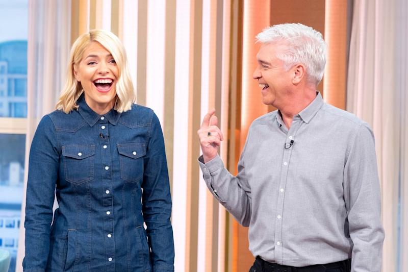 Off sick: Holly Willoughby took Wednesday off to recover (Ken McKay/ITV/Rex)