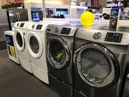Durable goods are seen on sale in a store in Los Angeles, California, U.S., March 24, 2017. REUTERS/Lucy Nicholson