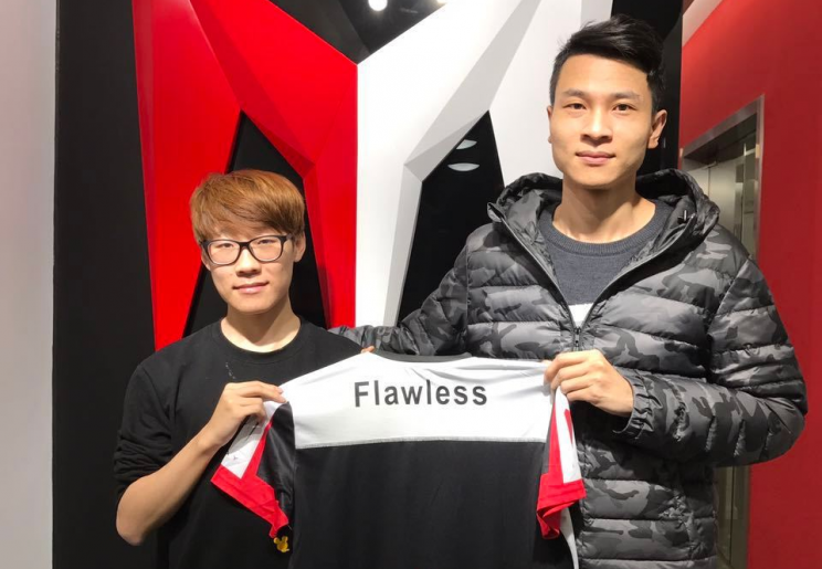 Flawless is now the jungler for LPL team I May (I May weibo)