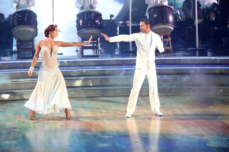 "<p>Can You Feel My Love?</p><p><a rel=""nofollow"" href=""https://twitter.com/noah_galloway"">Noah Galloway</a> and <a rel=""nofollow"" href=""https://instagram.com/sharnaburgess/"">Sharna Burgess</a> were still riding the high from the week before, when the judges gave them their first 10. They left almost too many details from their choreography to the voters, who of course wanted them to do a ""military"" theme, which was promptly overruled by Noah, who would not ""dress up"" in a miltary costume and disrespect himself and his fellow service men. The public chose the couple dance a tango to ""Geronimo"" by Sheppard, which they did. It was a lovely choreography, both of them in head-to-toe white, but it ultimately lacked energy.</p>"