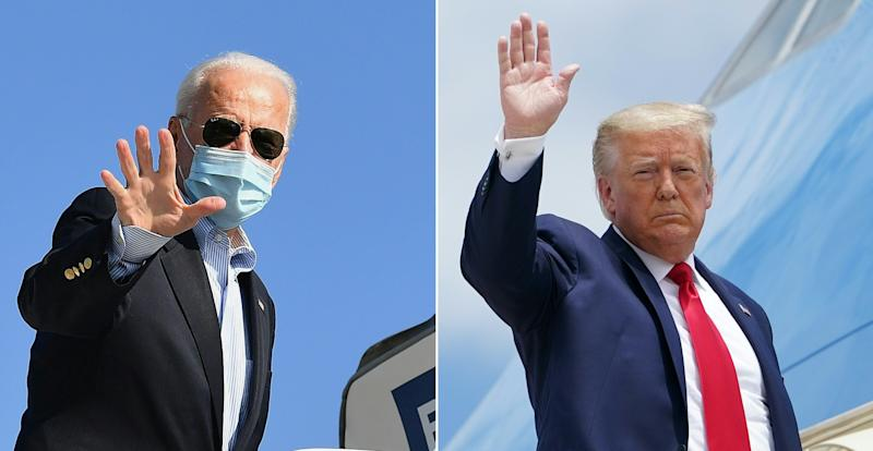 Trump and Biden again imagine fighting each other in high school; Trump slams Supreme Court: Live election updates