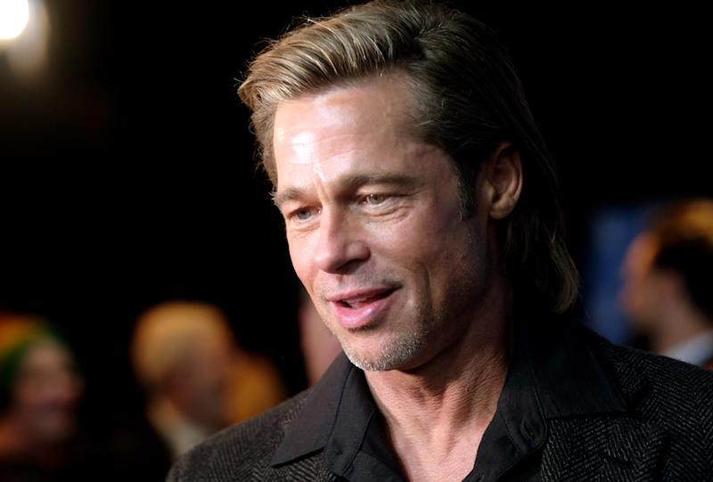 SANTA BARBARA, CALIFORNIA - JANUARY 22: Brad Pitt attends the Maltin Modern Master Award Honoring Brad Pitt during the 35th Santa Barbara International Film Festival at the Arlington Theatre on January 22, 2020 in Santa Barbara, California. (Photo by Matthew Simmons/Getty Images for SBIFF)