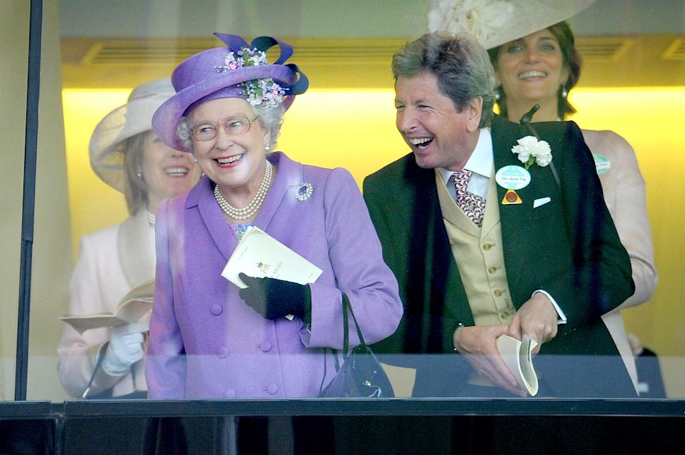 EMBARGOED TO 0001 THURSDAY JUNE 11 File photo dated 20/06/13 Queen Elizabeth II with her racing manager John Warren after her horse, Estimate, won the Gold Cup on day three of the Royal Ascot meeting at Ascot Racecourse, Berkshire. The Queen has revealed her favourite horses, including Estimate, from the seven decades of her reign for the first time.