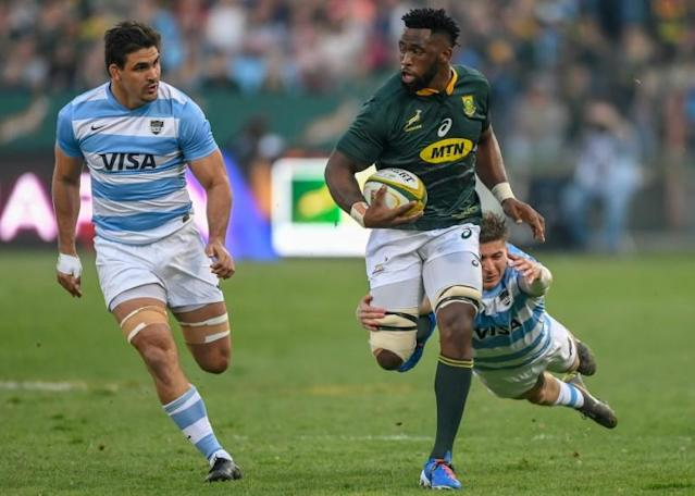 Siya Kolisi is the first black player to captain South Africa at a World Cup (AFP Photo/Christiaan Kotze)