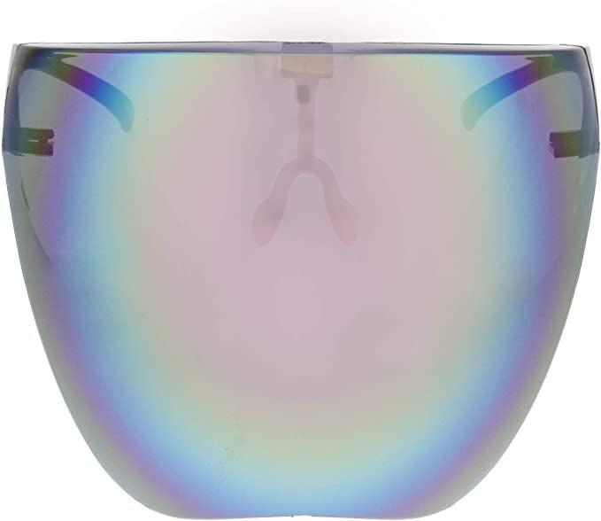 <p>Go cool-toned with these sleek <span>zeroUV Protective Face Shield Full Cover Visor Glasses </span> ($23). These are anti-fog and have a blue light filter.</p>