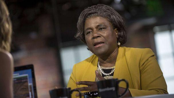 PHOTO: In this file photo, Linda Thomas-Greenfield speaks during a Bloomberg West Television interview in San Francisco, May 31, 2016. (Bloomberg via Getty Images, FILE)