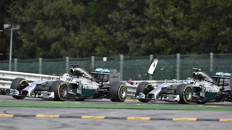 Formula One - Mercedes discipline Rosberg over Hamilton crash