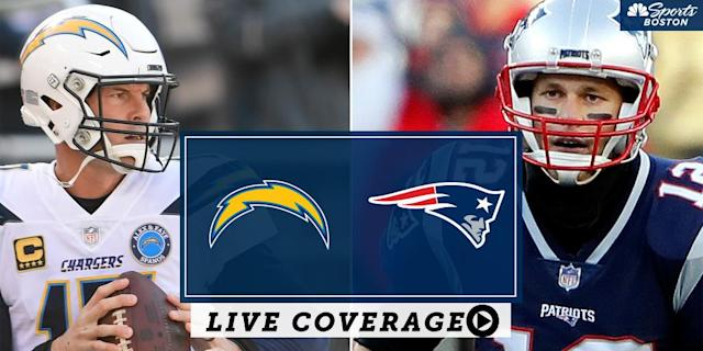 Check out a complete list of where to watch coverage of the NFL Divisional Round playoff game between the New England Patriots and Los Angeles Chargers.