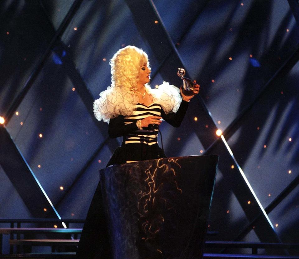 A straight-talking drag queen from Birkenhead with a penchant for discussing her sex life in as much detail as censors allowed and 'Blankety Blank' mightn't seem like a fitting match, yet Lily Savage was a perfect host for the show in the mid-90s.<br /><br />Long before the Best Presenter award became synonymous with Ant and Dec, Lily's efforts on the celeb-infused gameshow bagged her the gong (and once the wigs and sequinned gowns were firmly boxed up in his loft, Paul O'Grady would go on to snatch a few of his own too).