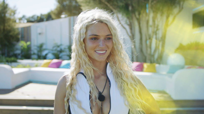 Lucie Donlan on Love Island 2019 (ITV)