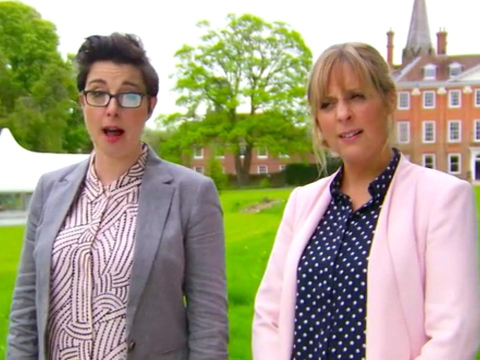 great british bake off mel and sue