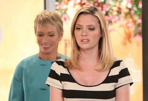 April Bowlby and Barbara Corcoran   Photo Credits: Annette Brown/Lifetime