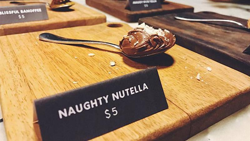 The Naughty Nutella spoon was not well received online. Source: Facebook