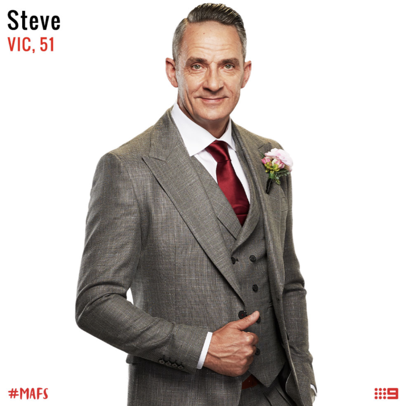 married at first sight groom steve burley