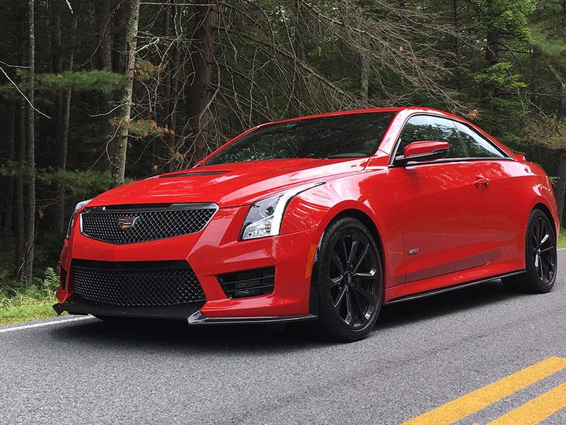 The 2017 Cadillac Ats V Coupe Is Two Doors Short Of Perfect