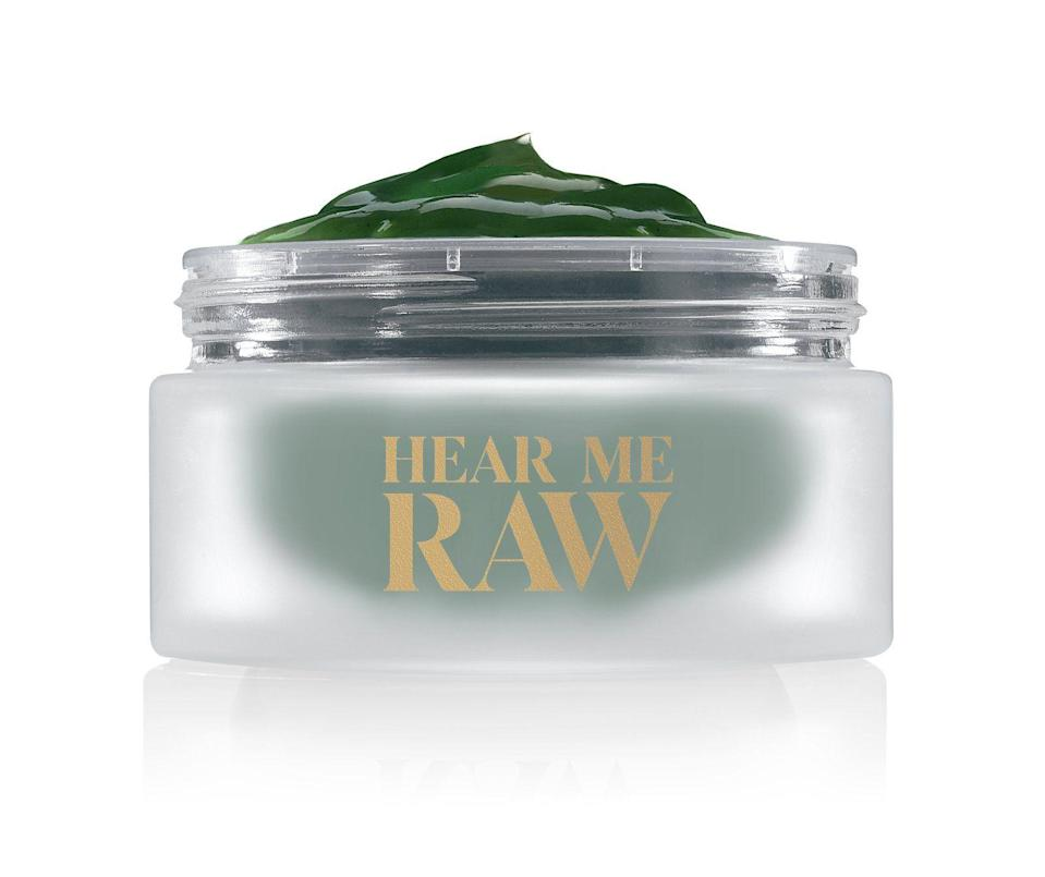 "<p><strong>Hear Me Raw</strong></p><p>hearmeraw.com</p><p><strong>$42.00</strong></p><p><a href=""https://hearmeraw.com/products/the-brightener-with-chlorophyll"" rel=""nofollow noopener"" target=""_blank"" data-ylk=""slk:Shop Now"" class=""link rapid-noclick-resp"">Shop Now</a></p><p>""My skin feels bright and glowy afterwards and it's completely vegan.""</p>"