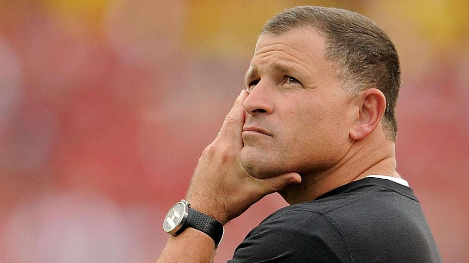 Tennessee's coaching search is coming to an end as the Vols are finalizing a deal with Greg Schiano. (Getty)