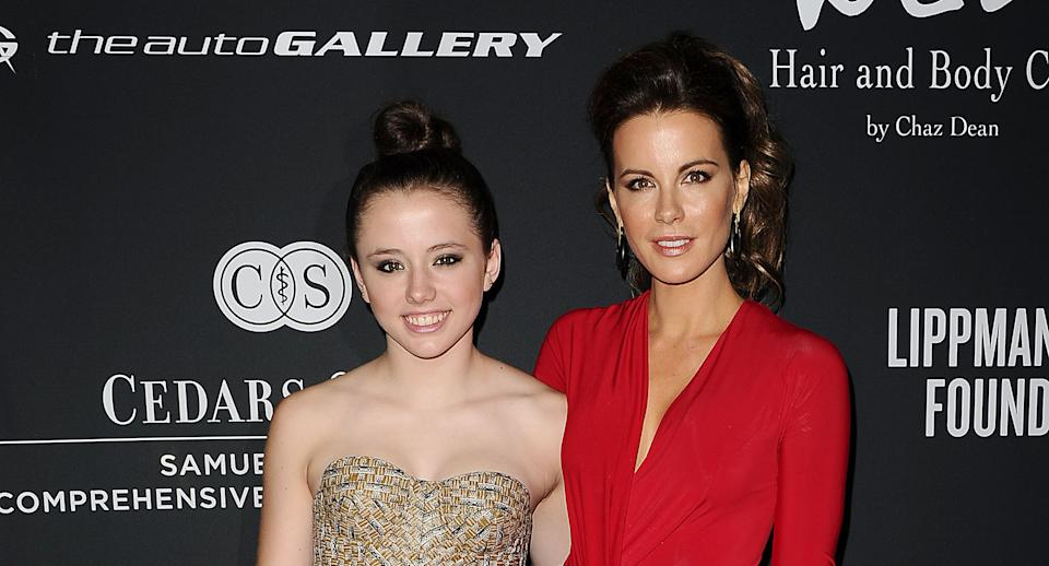 Kate Beckinsale says she hasn't seen daughter Lily Mo Sheen for two years. (Photo by Jason LaVeris/FilmMagic)