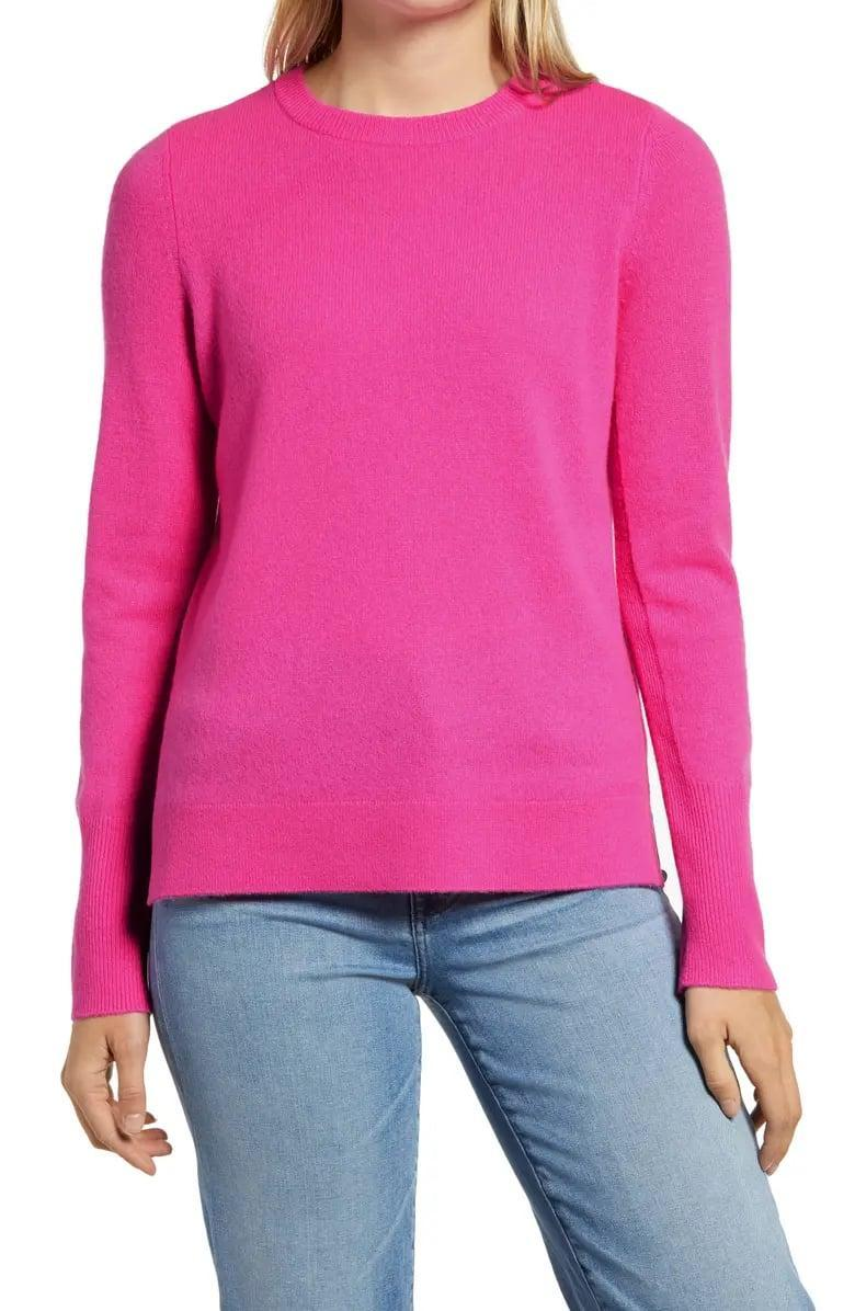 <p><span>Halogen Crewneck Cashmere Sweater</span> ($58, originally $98)</p>