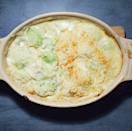 "<p>Forget <a href=""https://www.delish.com/uk/food-news/a29383424/co-op-cauliflower-cheese-crisps/"" rel=""nofollow noopener"" target=""_blank"" data-ylk=""slk:cauliflower cheese"" class=""link rapid-noclick-resp"">cauliflower cheese</a>, cheesy leeks is hands down the best cheesy <a href=""https://www.delish.com/uk/cooking/recipes/g28933760/roast-dinner-recipe/"" rel=""nofollow noopener"" target=""_blank"" data-ylk=""slk:roast dinner"" class=""link rapid-noclick-resp"">roast dinner</a> side, right? We've packed ours with four different types of cheese. You heard me right. Cheddar, Gruyere, Brie AND Parmesan to make the ultimate cheese concoction. </p><p>Get the <a href=""https://www.delish.com/uk/cooking/recipes/a34446095/cheesy-leeks/"" rel=""nofollow noopener"" target=""_blank"" data-ylk=""slk:Cheesy Leeks"" class=""link rapid-noclick-resp"">Cheesy Leeks</a> recipe.</p>"