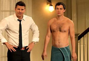 David Boreanaz and John Francis Daley | Photo Credits: Patrick McElhenney/FOX