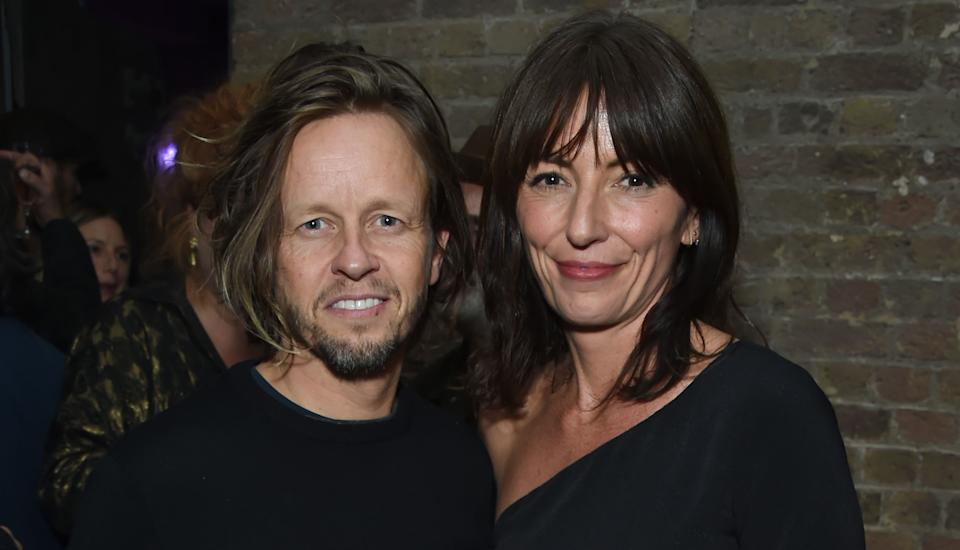 Celebrity hairdresser Michael Douglas lives with partner Davina McCall (Getty Images)