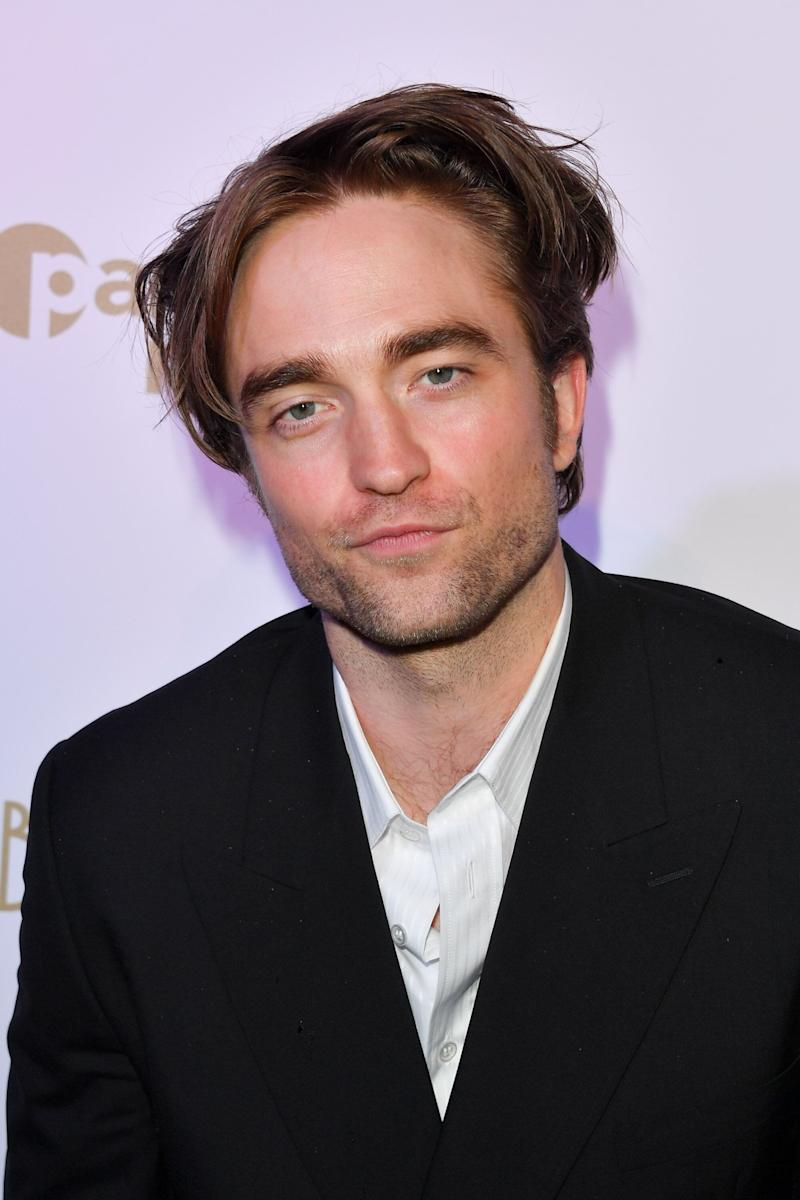CANNES, FRANCE - MAY 19: Robert Pattinson attends the HFPA & Participant Media Honour Help Refugees' during the 72nd annual Cannes Film Festival on May 19, 2019 in Cannes, France. (Photo by George Pimentel/WireImage)