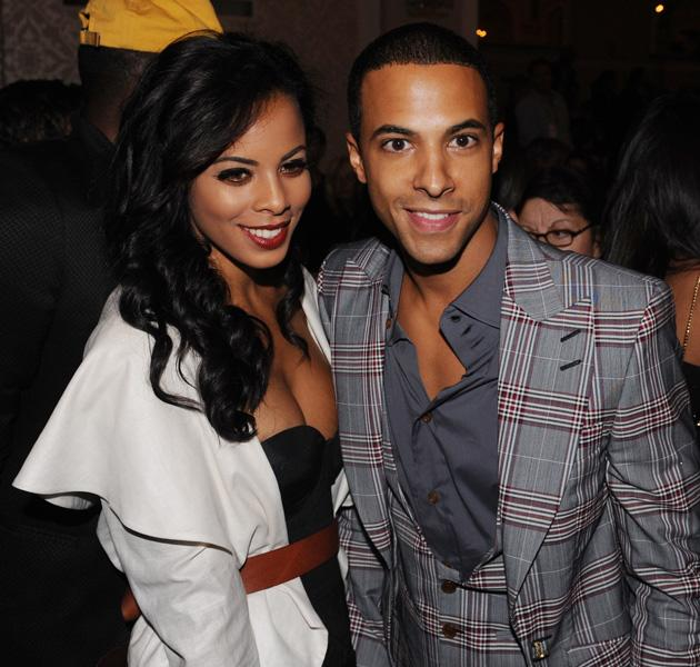 Rochelle and Marvin Humes photos: Rochelle and Marvin made a super-stylish couple as they attended London Fashion Week in 2010. Copyright [WENN]