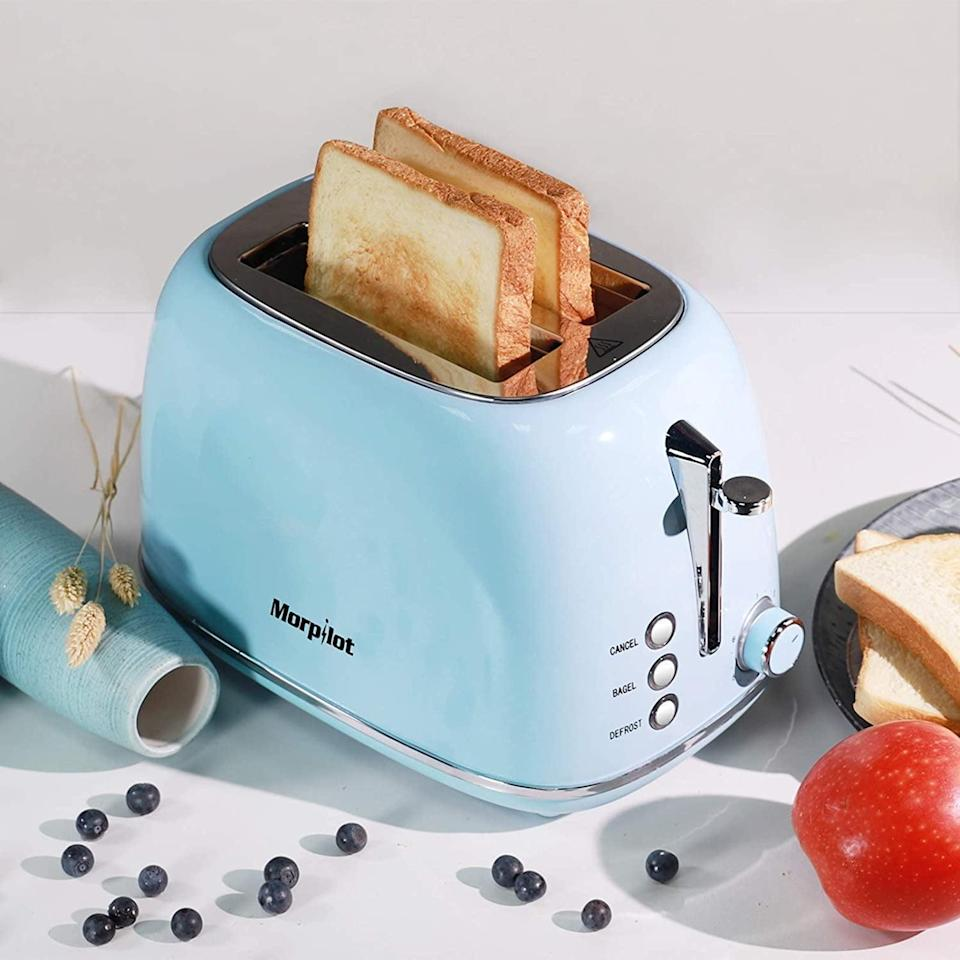 <p><span>Compact Bread Toasters</span> ($28, originally $39)</p>
