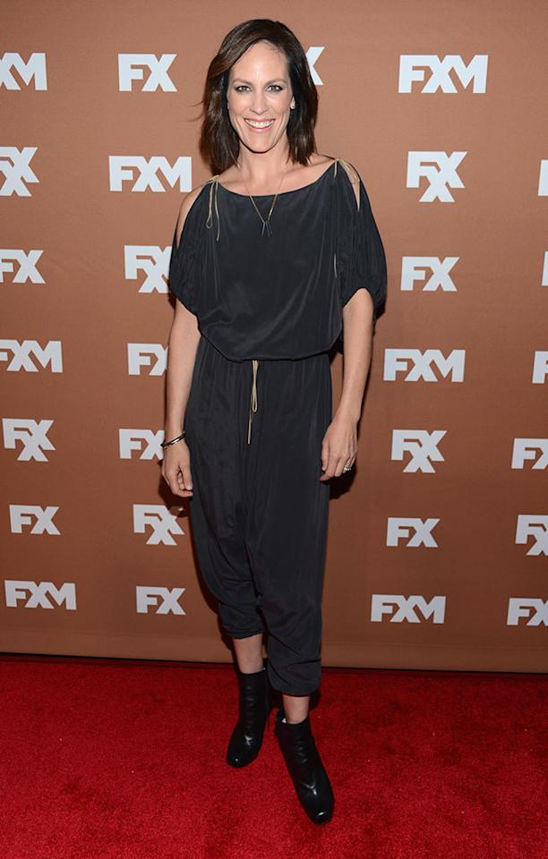 Annabeth Gish attends the 2013 FX Upfront Bowling Event at Luxe at Lucky Strike Lanes on March 28, 2013 in New York City.